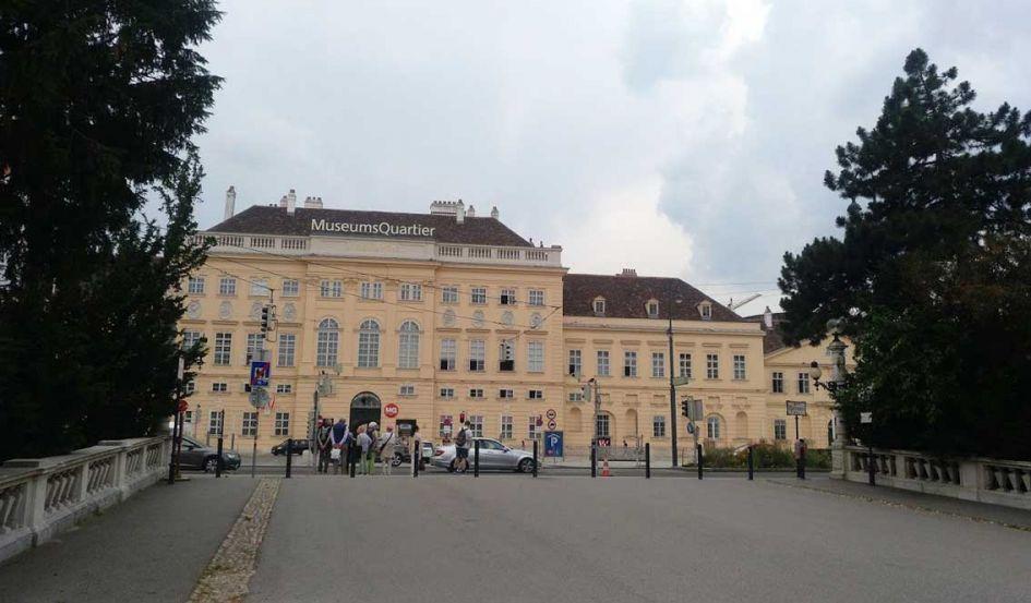 museum quarter building vienna