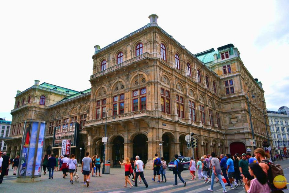 Vienna opera house, part of your 7 days in Vienna itinerary