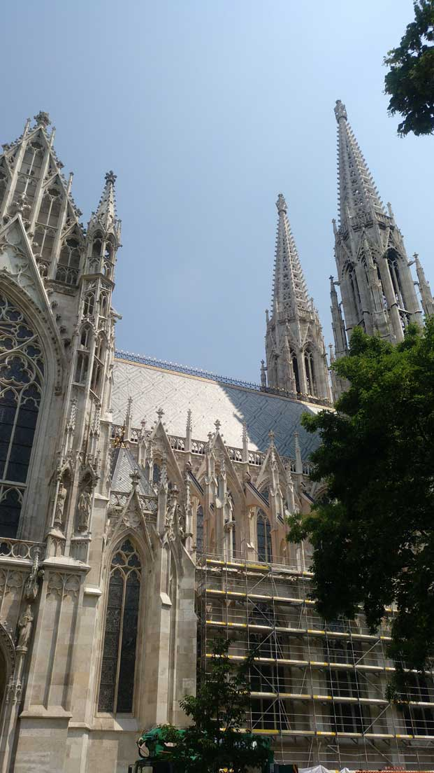 Votivkirche cathedral Vienna