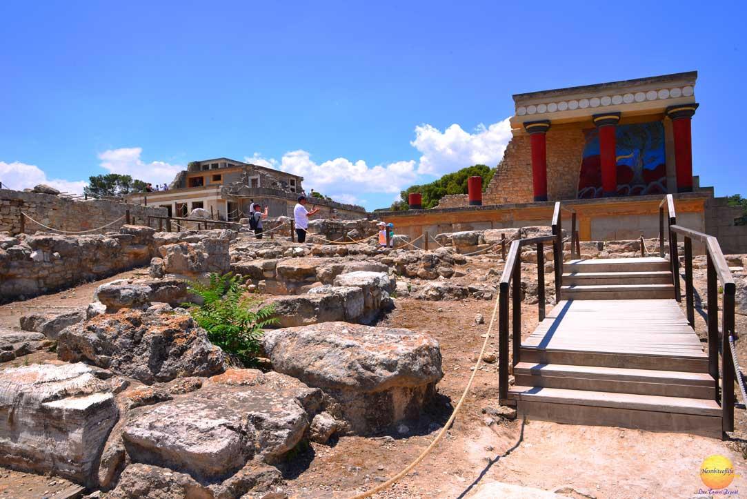 royal road knossos crete