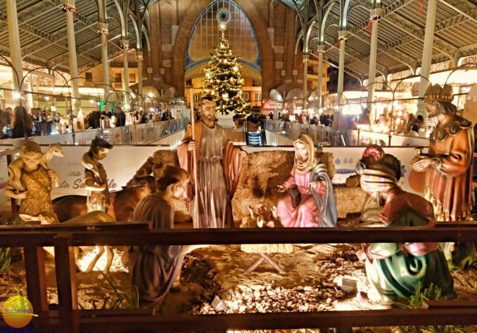 valencia spain nativity set - christmas stocking stuffers