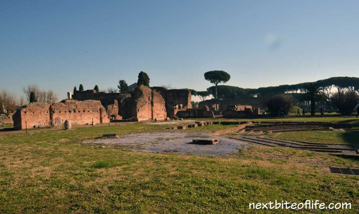 palatine Hill Rome gardens remains.