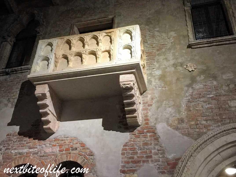 Juliet's balcony Verona Italy