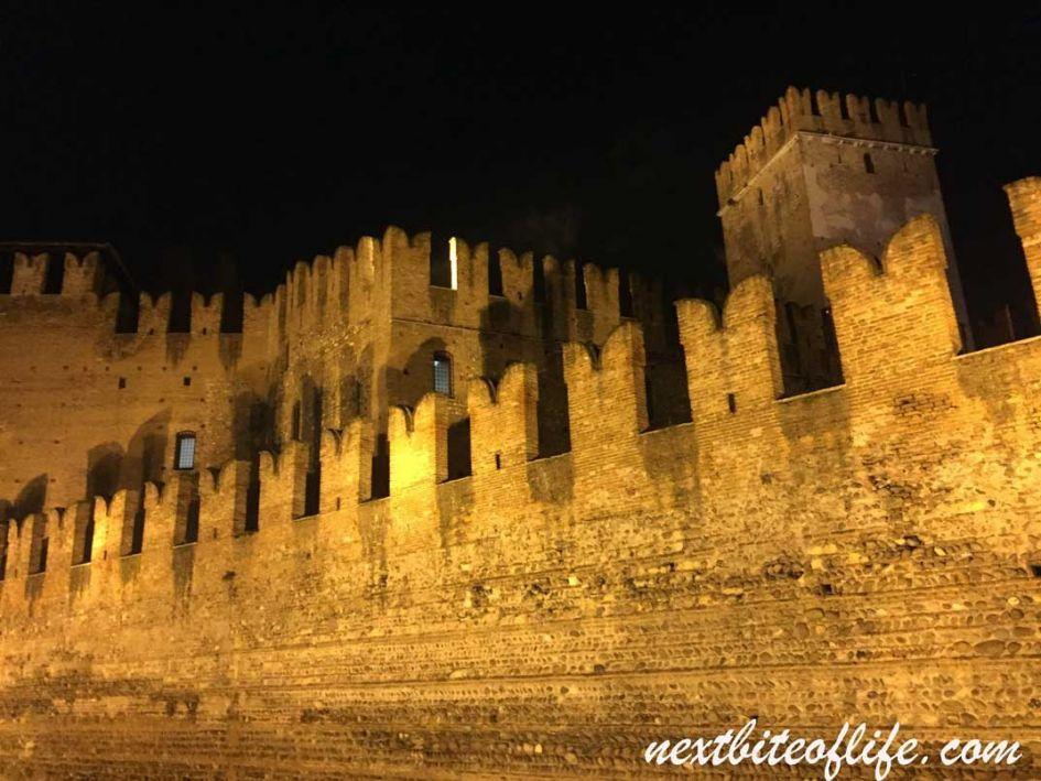 castelvecchio at night, Verona