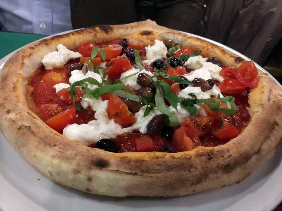 pizza in Verona