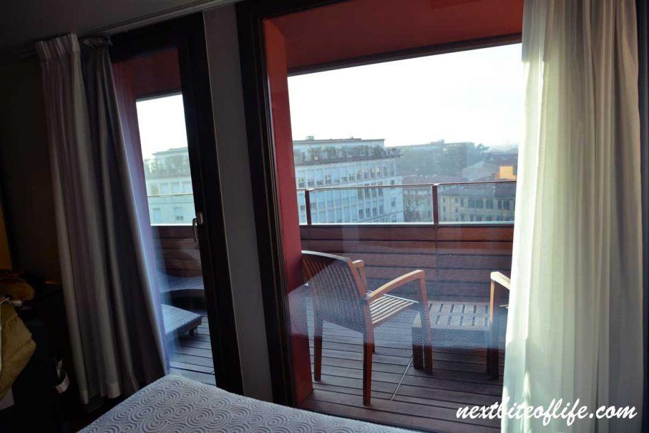 hotel Verona room view with balcony