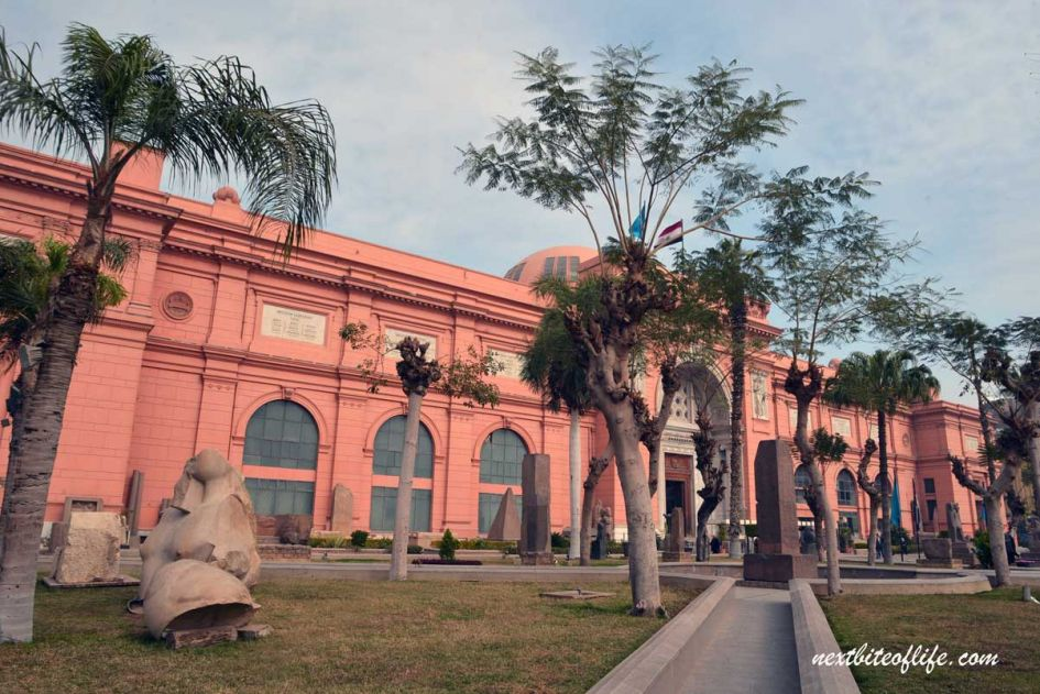 Egyptian museum in Cairo, a place to visit during your day in Cairo