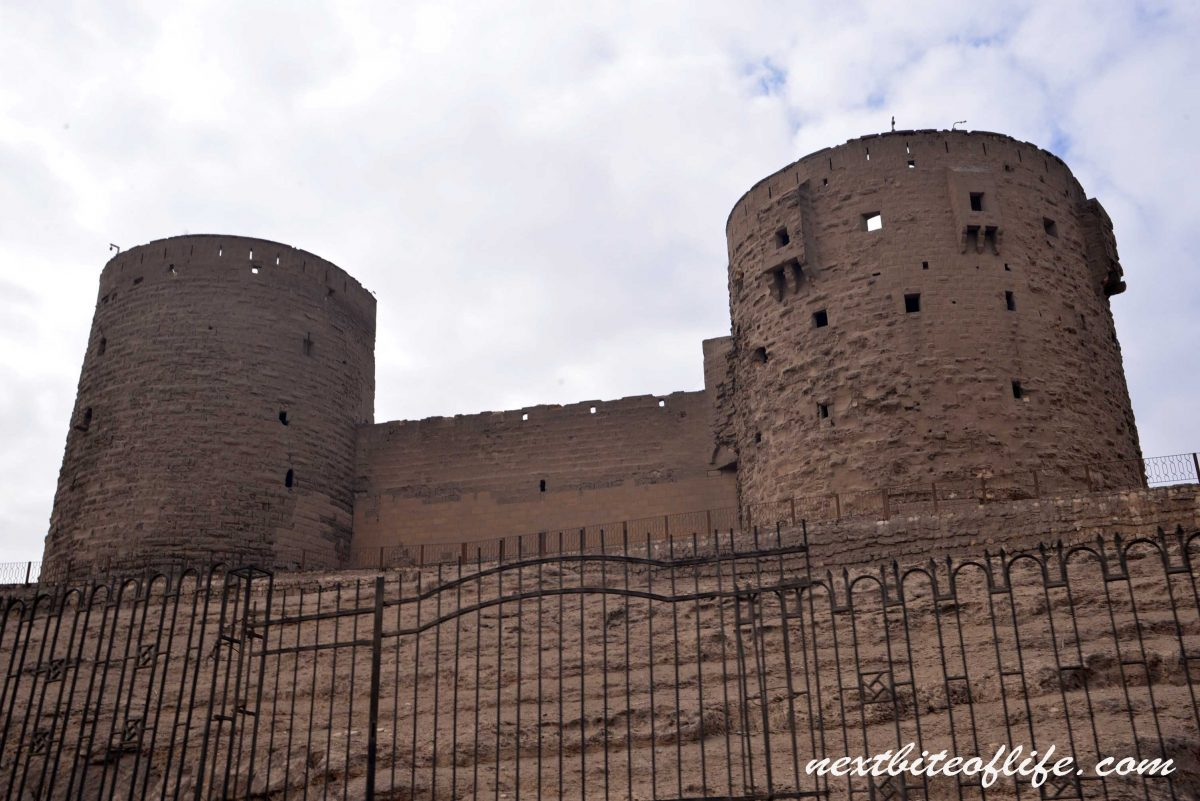 fortified citadel in Cairo