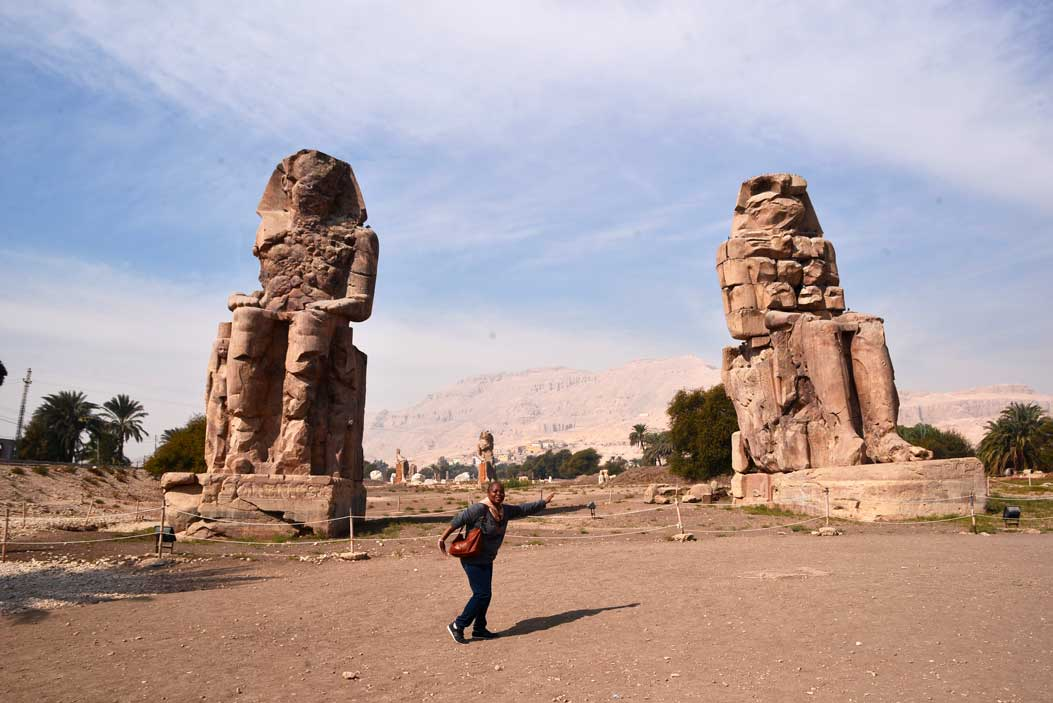 colossus of Memnon statue