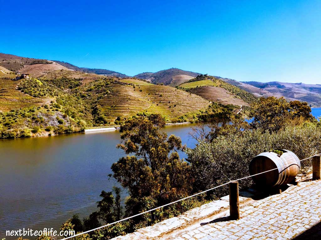 Douro Valley Portugal landscape of water and hills