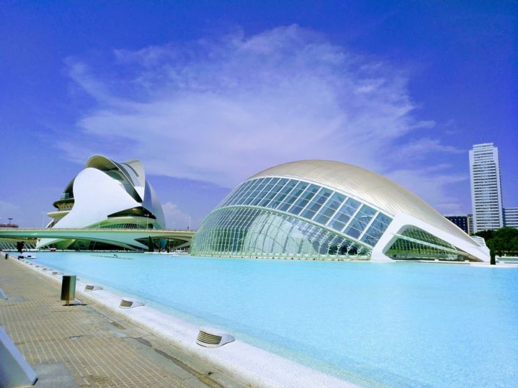 City of arts and sciences Valencia Spain Opera house and hemispheric one of the 17 reasons not to visit Valencia