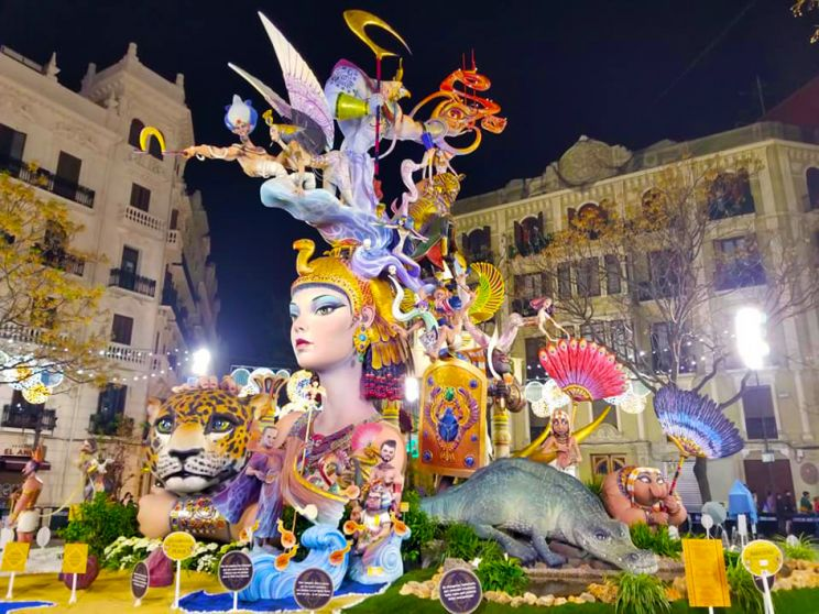 Fallas 2019 Valencia Spain