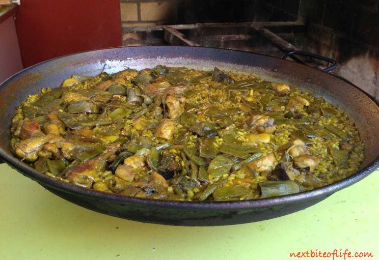 another reason not to visit Valencia Spain is the horrible Paella Valenciano