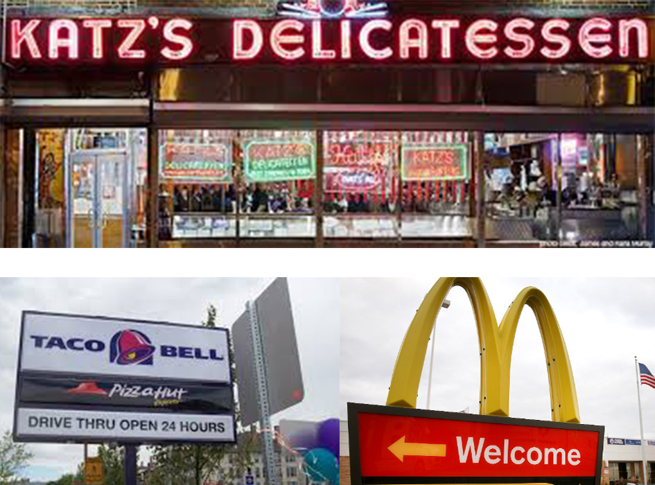 deli, McD and Taco Bell sign are things that immigrants in Spain miss about the U.S