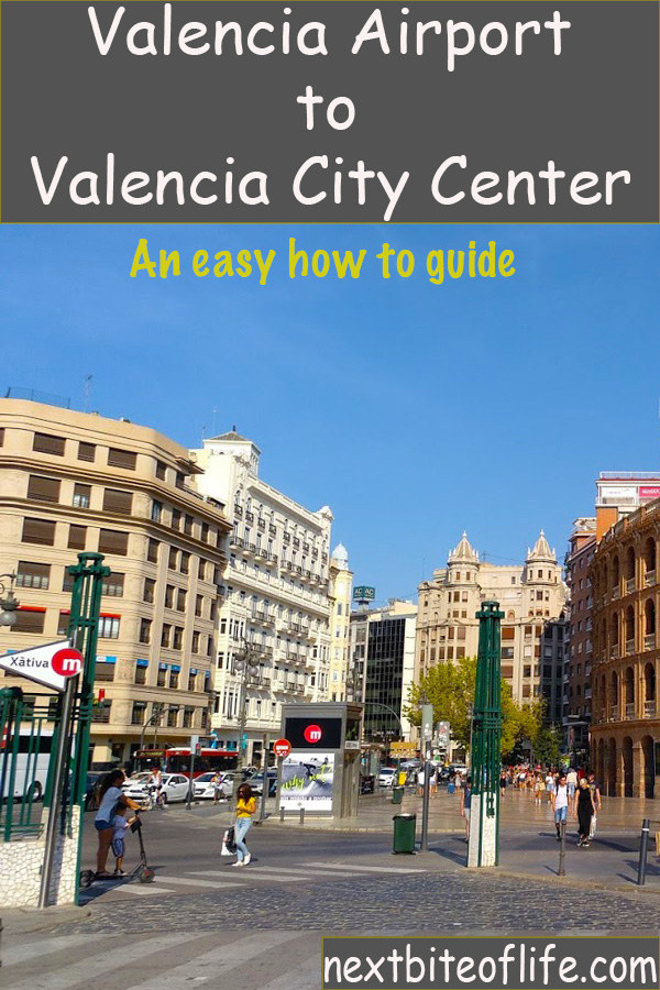 How to get to Valencia center from the airport #valencia #gettingtovalencia #valenciametro #valenciaguide #spain