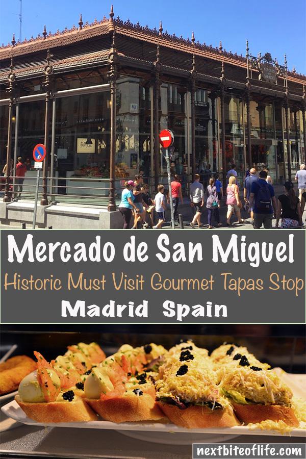 Mercado de San Miguel Madrid #madrid #madridguide #mercado #sanmiguel #spain #tapas