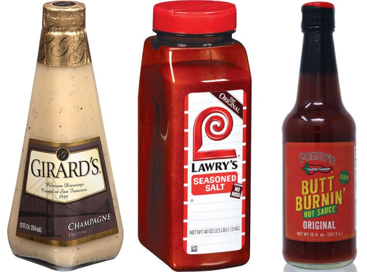 Trio of spices and dressing, some of the things expats in Spain miss most from the U.S