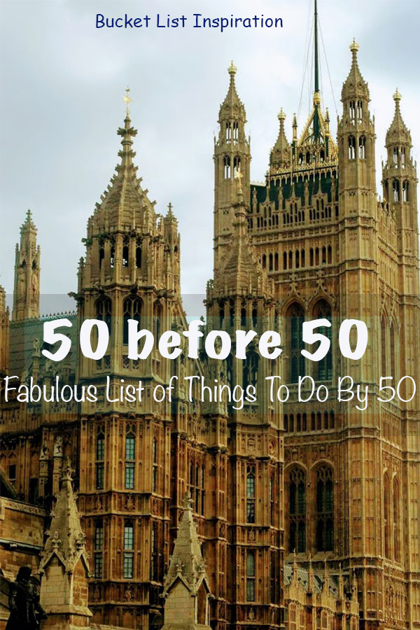 50 by 50 bucket list #50by50 #50before50 #lifestyletips #lifegoals #expatlife #travel