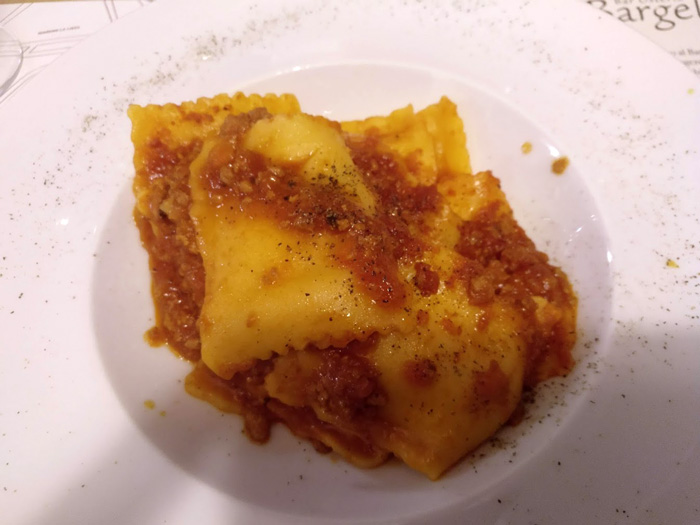 ravioli with lamb ragu