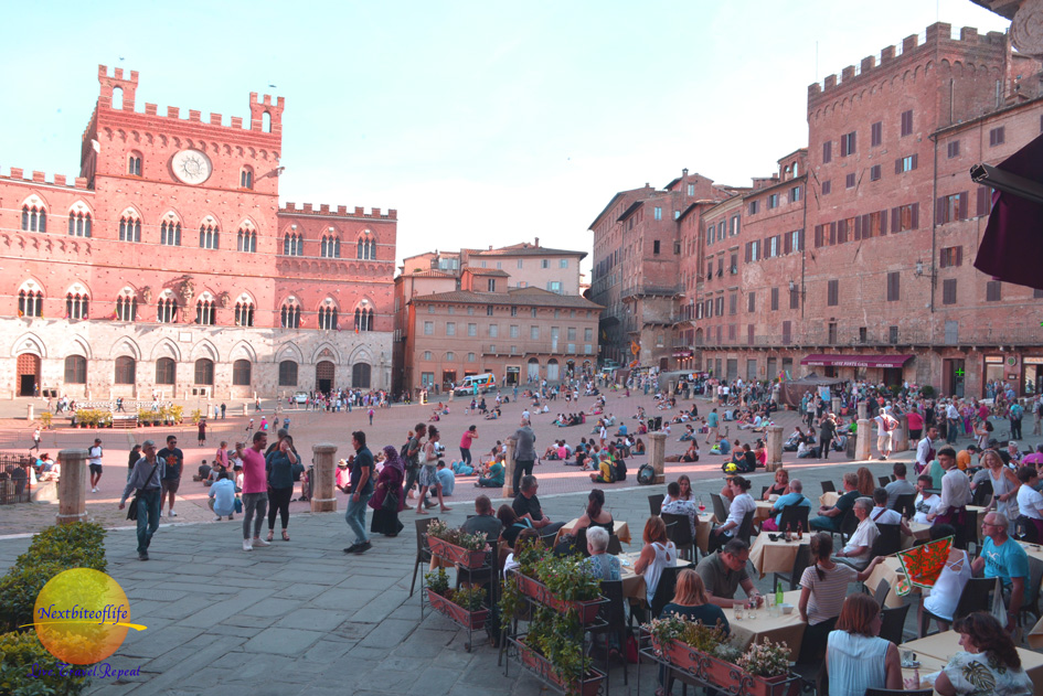 Piazza del Campo Italy in 12 reasons to visit Siena