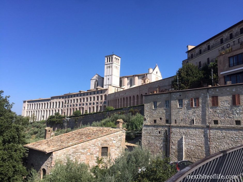 Assisi from a distance in our year end review 2019