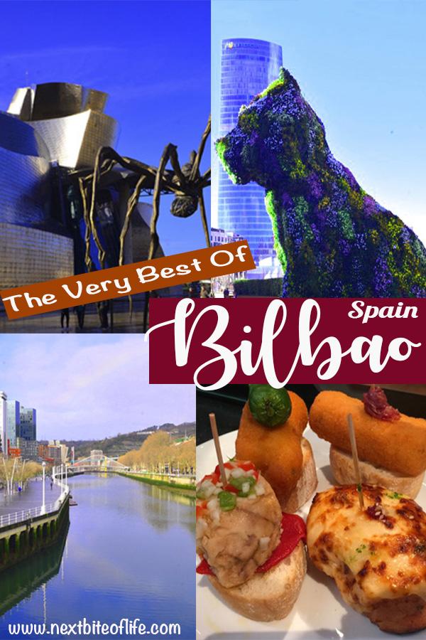 Magnificent Best of Bilbao #bilbao #visitbilbao #basquecountry #spaintravel #pintxos #guggenheimbilbao