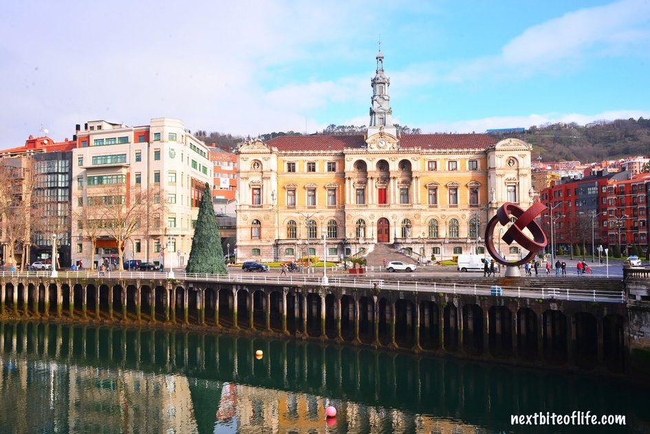 ayutamiento Bilbao. Magnificent best gems of Bilbao Spain