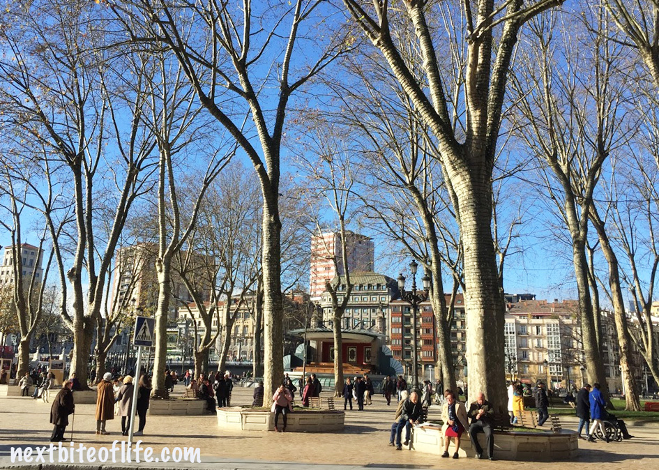 park in our magnificent best gems of Bilbao