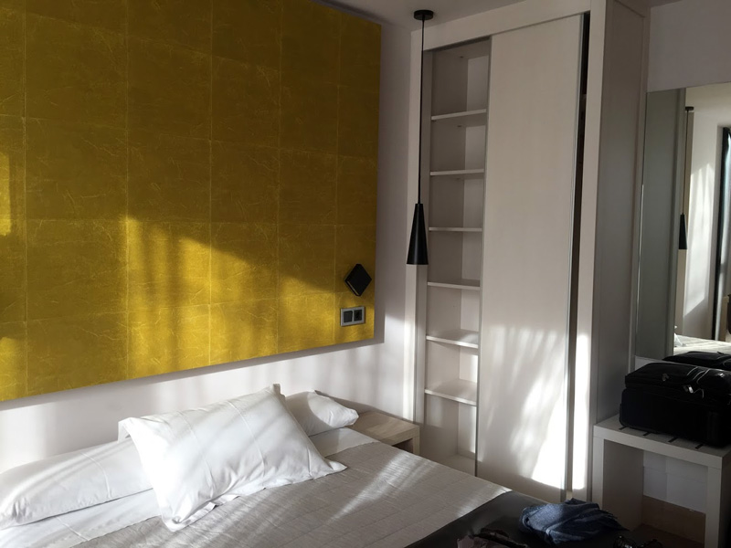 our hotel room at the hotel Bilbao plaza - magnificent best gems of Bilbao guide