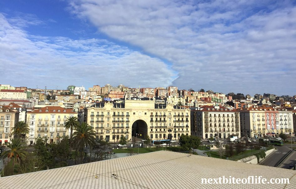 view of Santander Spain from the centro Botin in our Santander Spain visit guide