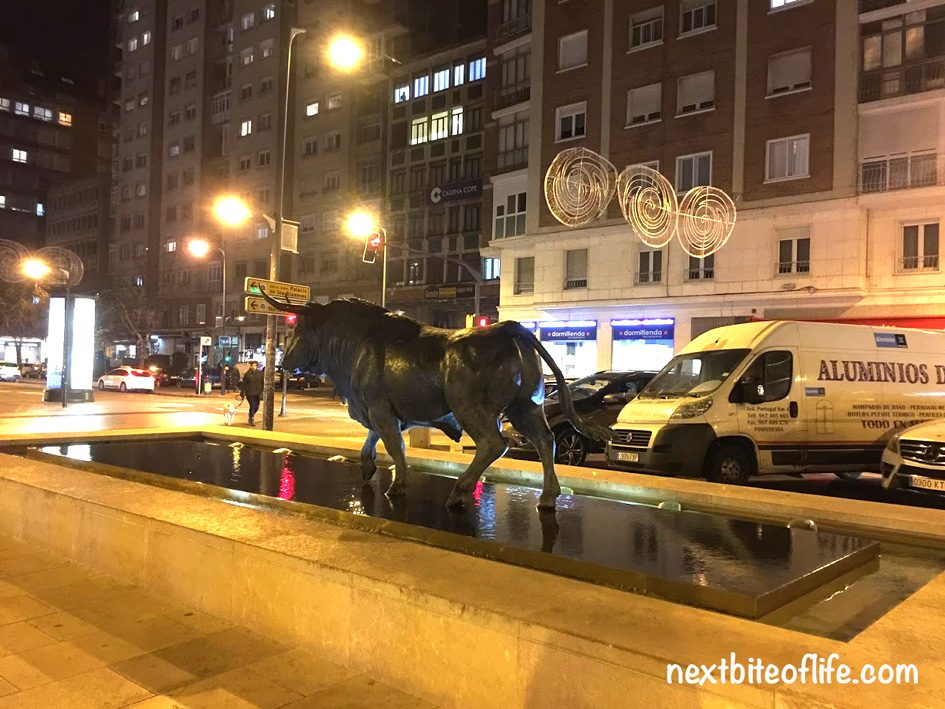 statue of bull in Burgos Spain guide with the best things to see and do