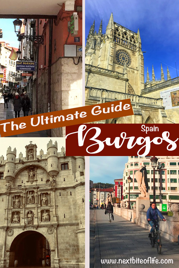 Burgos Spain Guide. Where to stay and best things to see #burgos #spain #visitburgos #castileleon #spaintravel #northspain
