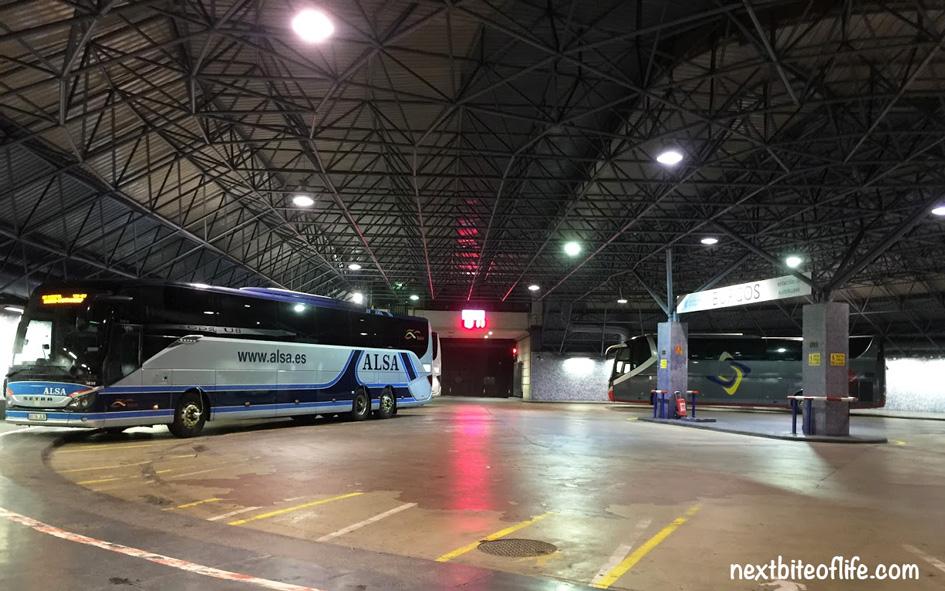 Alsa bus station Burgos