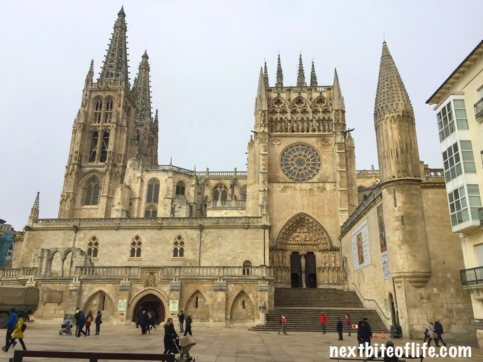 Burgos Cathedral Burgos Spain front view