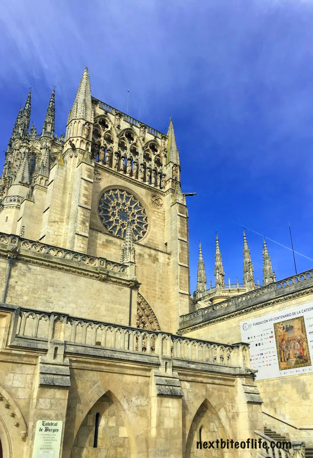 Burgos Cathedral front view #burgos #spain