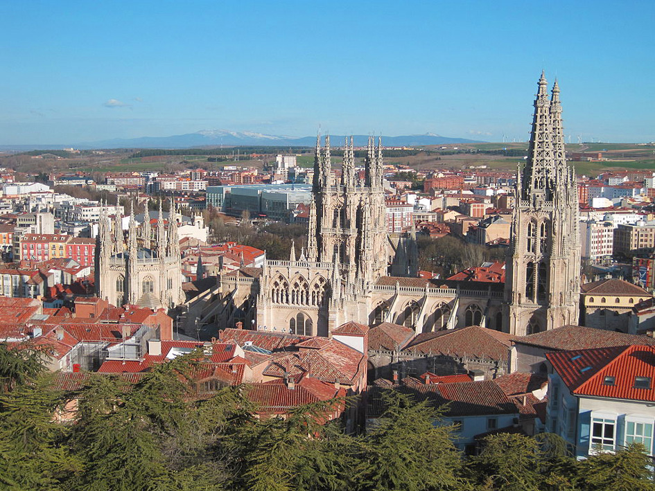 Mirador Burgos view of city