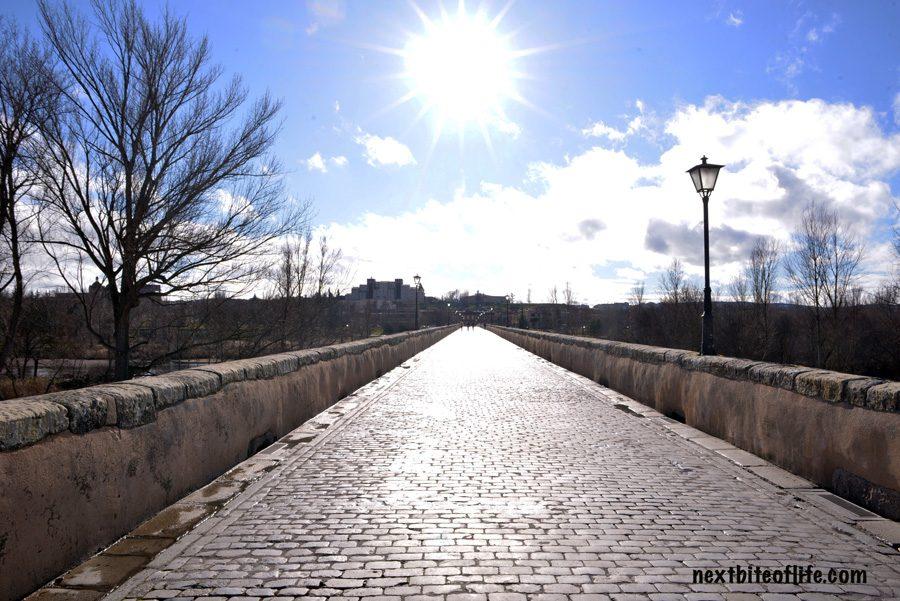 roman bridge Salamanca Spain Guide