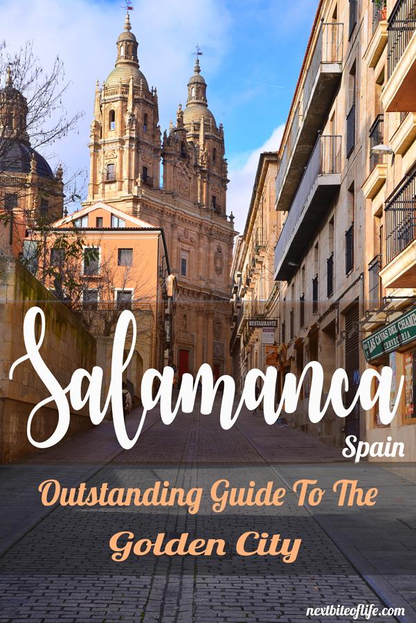 Salamanca Spain Guide - #salamanca #spain #oldtown #goldencityspain #bestthingssalamanca #salamancaitinerary #salamancaguide #visitsalamanca #visitspain #spaintravel