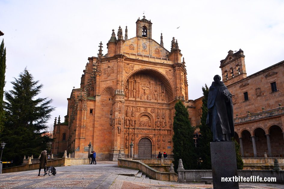 Salamanca Spain Guide to the best. Exterior os convento san estaban with stature