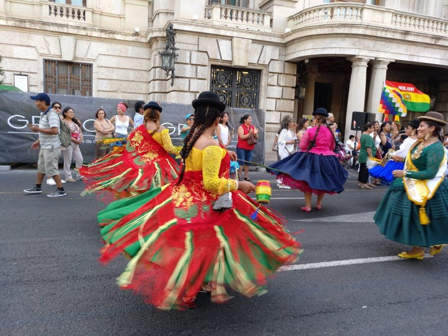 women dancing and celebrating. Tales from the Spanish lockdown