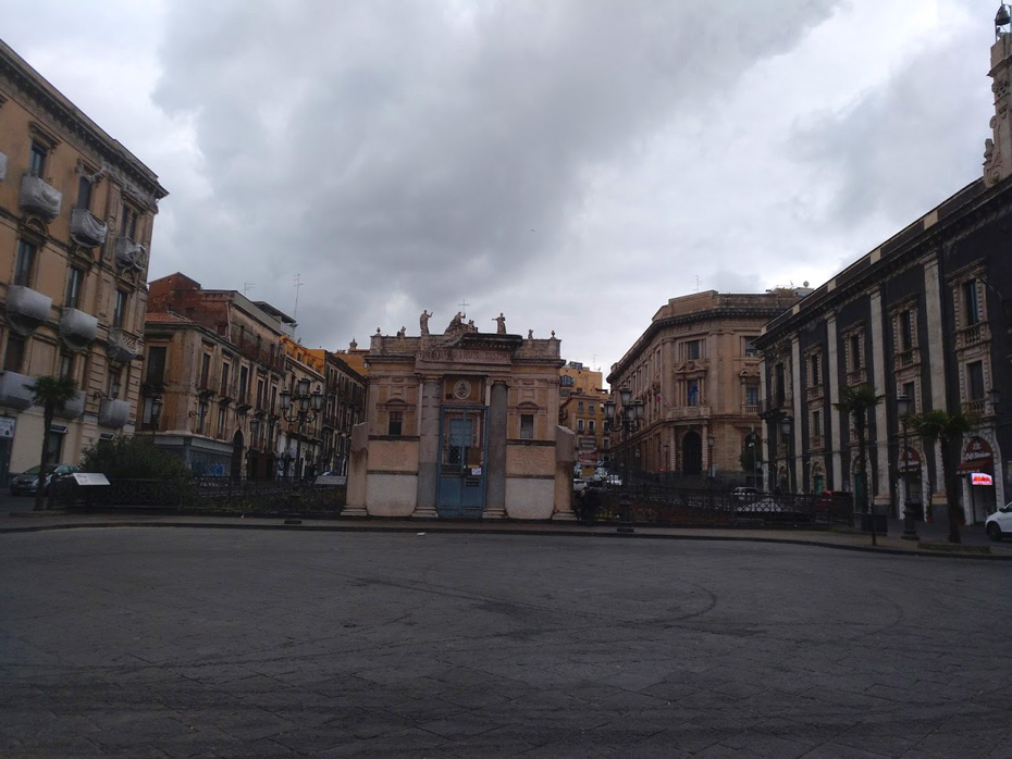 catania center in Coronavirus Update And Quarantine Lockdown