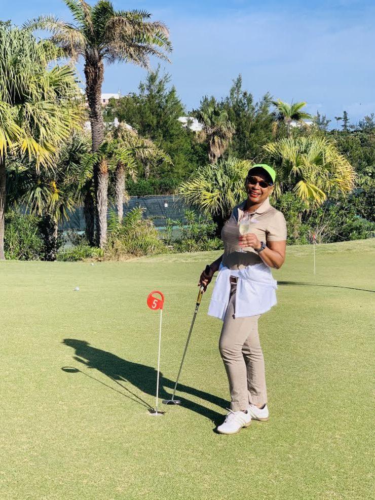 Expat in Bermuda lockdown