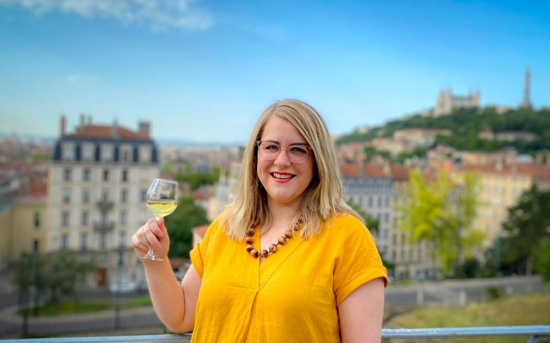 Expat and Wine Expert In Lyon France – Caroline