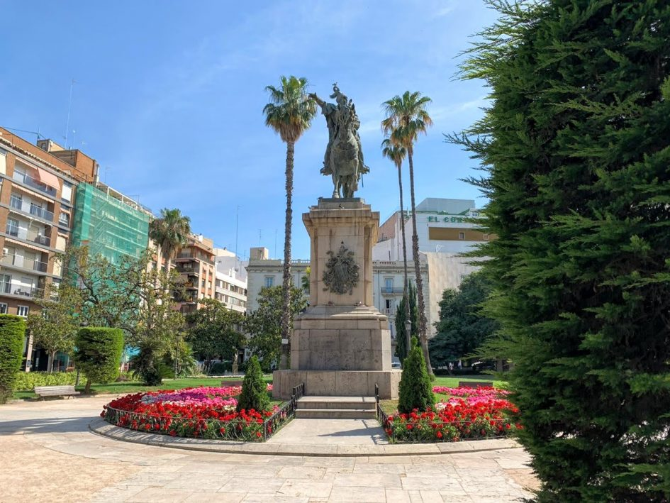 statue valencia spain ten years of expat life post