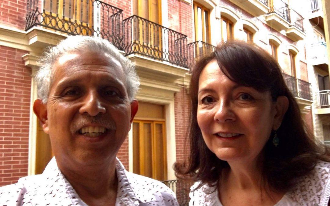 Experimental Expats In Spain. Albert and Barbara